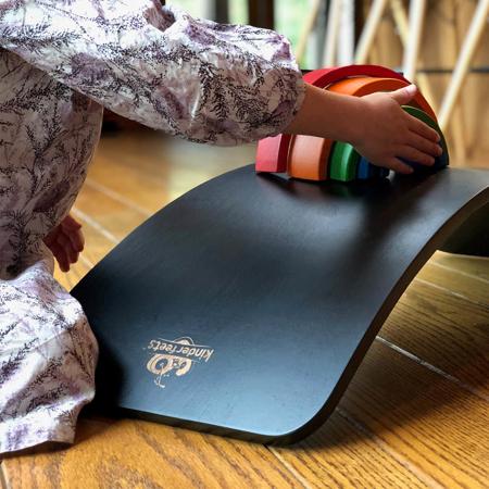 Slika za Kinderfeets® Daska za ravnotežu Black