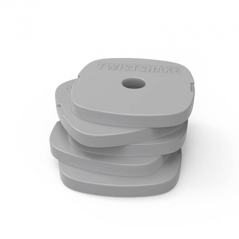 Slika za Twistshake® Ledeni oblozi Grey 5 komada