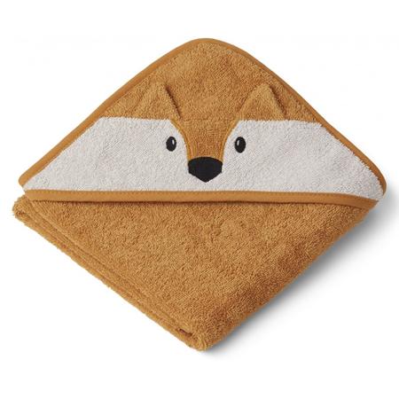Slika za Liewood® Ručnik s kapom Fox Mustard 70x70