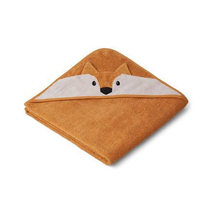 Slika za Liewood® Ručnik s kapom Fox Mustard 100x100