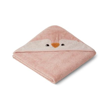 Slika za Liewood® Ručnik s kapom Penguin Rose 100x100