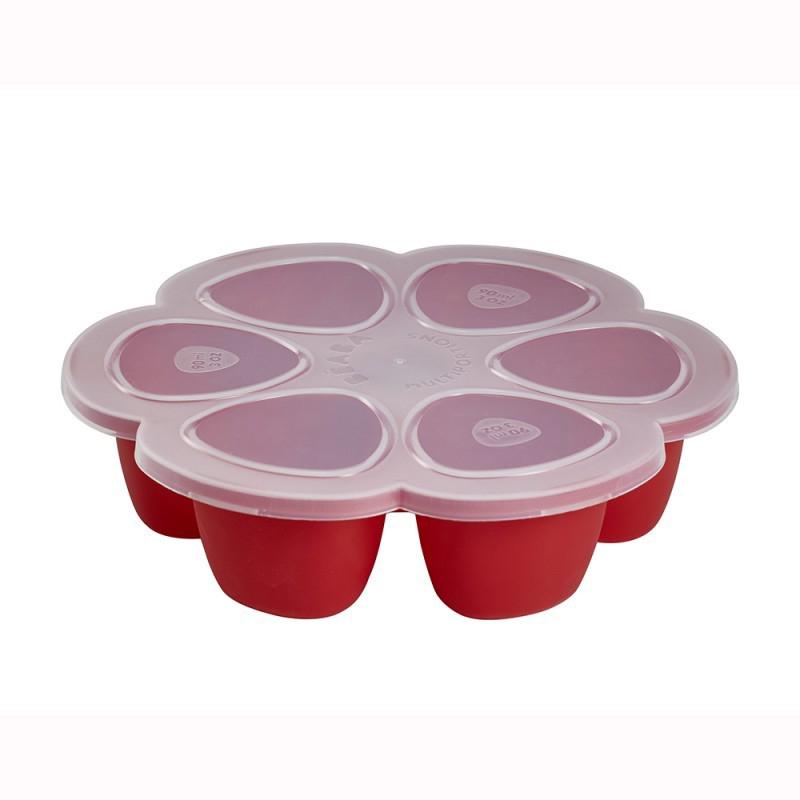 Slika za Beaba® Predelna posodica za zmrzovanje 6x90ml Red