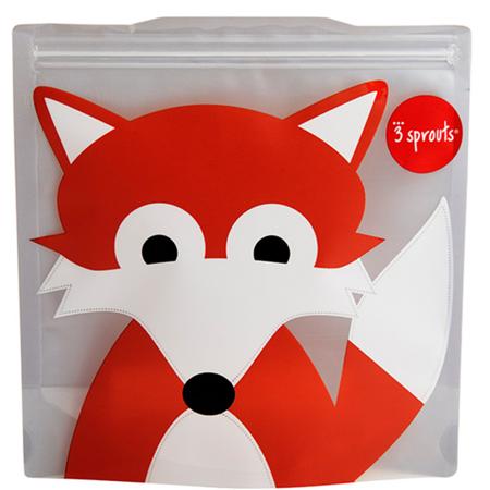 Slika za 3Sprouts® Vrećice za užinu i grickalice Lisica