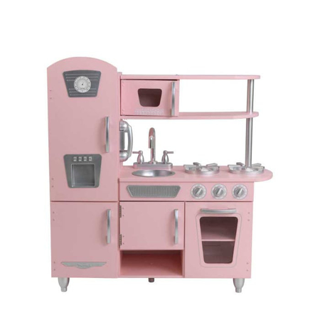 Slika za KidKraft® Dječja kuhinja Vintage Pink/Silver