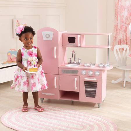 KidKraft® Dječja kuhinja Vintage Pink/White