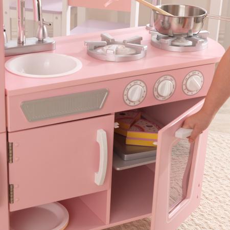 Slika za KidKraft® Dječja kuhinja Vintage Pink/White
