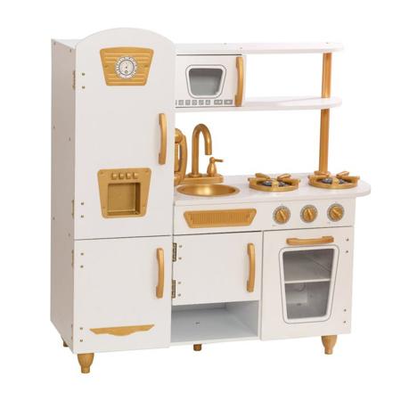 Slika za KidKraft® Dječja kuhinja Vintage White/Gold