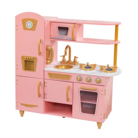 KidKraft® Dječja kuhinja Vintage Pink/Gold