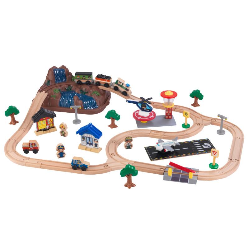 Slika za KidKraft®  Set za igranje s željeznicom Train