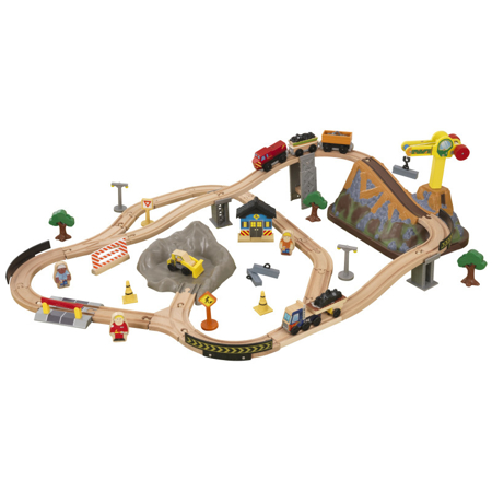 Slika za KidKraft® Set za igranje s željeznicom Construction Train