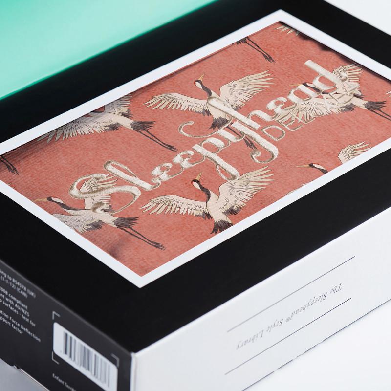 Slika za Sleepyhead® Pamučna navlaka za gnijezdo Deluxe+ (0-8m) – Crane