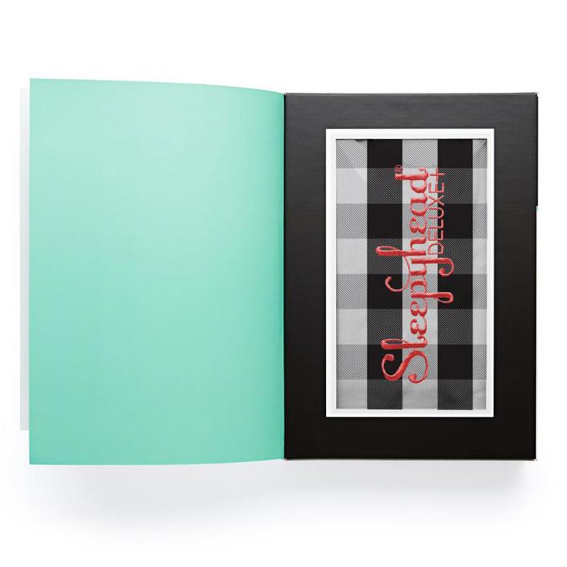 Slika za Sleepyhead® Pamučna navlaka za gnijezdo Deluxe+ (0-8m) – Charcoal Plaid