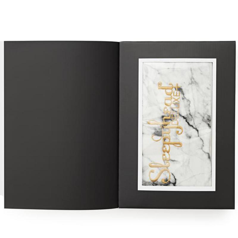 Slika za Sleepyhead® Pamučna navlaka za gnijezdo Deluxe+ (0-8m) – Carrara Marble
