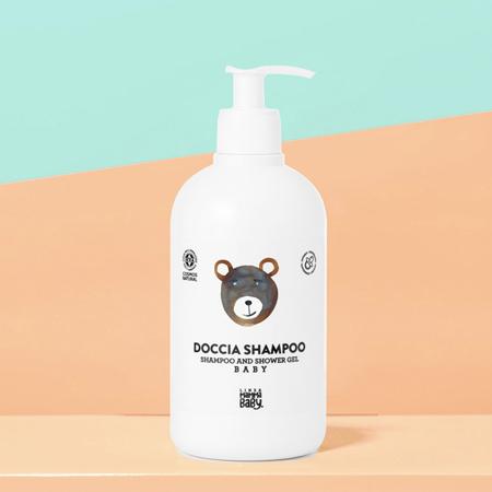 Linea MammaBaby® Šampon i gel za tuširanje za bebe i djecu Giacomino 500 ml