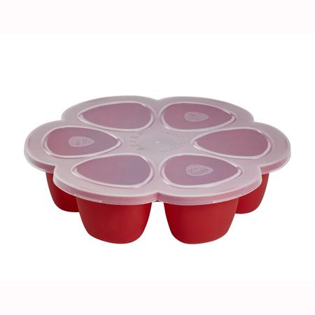Slika za Beaba® Predelna posodica za zmrzovanje 6x150ml Red