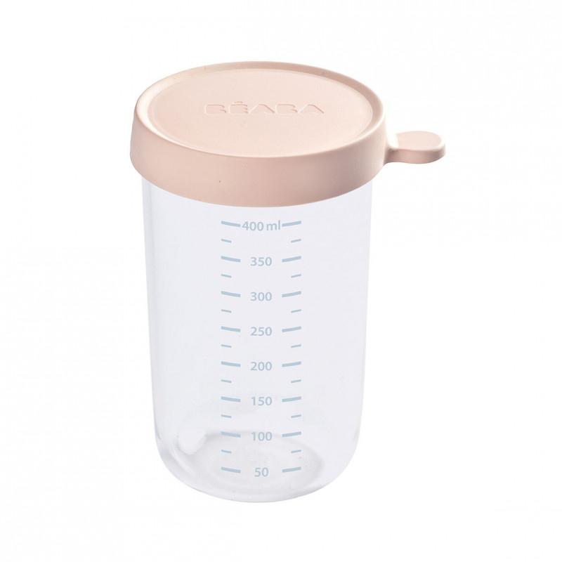 Slika za Beaba® Steklena posodica za shranjevanje 400ml Pink