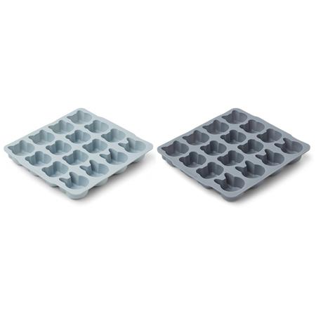 Slika za  Liewood® Silikonski kalupi za led Blue Mix 2 kom