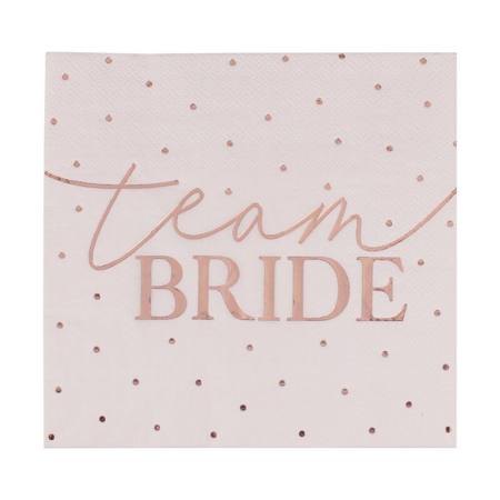 Slika za Ginger Ray® Salvete Team Bride 16 komada