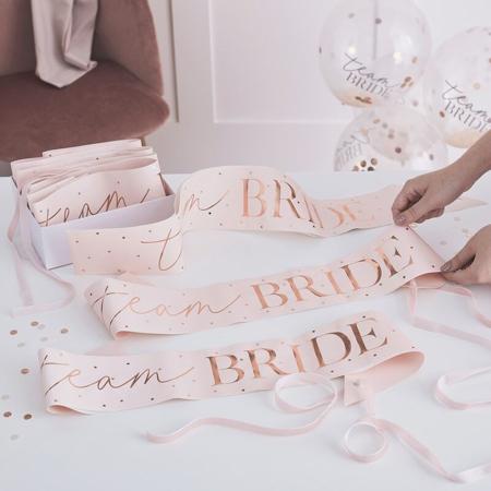 Slika za Ginger Ray® Trakovi za djevojačko Team Bride 6 komada