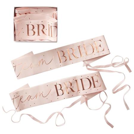 Ginger Ray® Trakovi za djevojačko Team Bride 6 komada