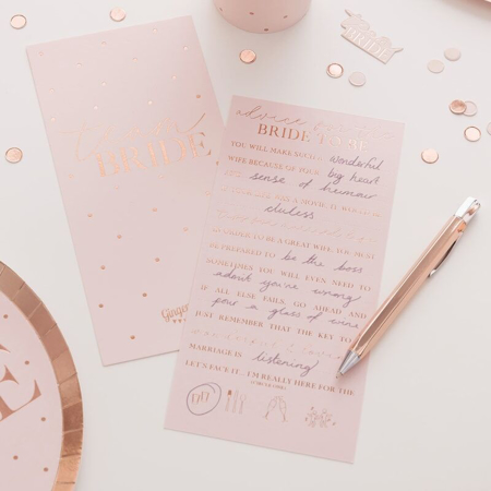 Slika za Ginger Ray® Kartice sa savjetima Bride To Be