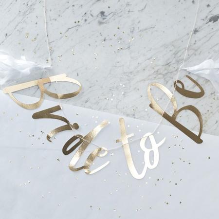 Slika za Ginger Ray® Viseći zlatni natpis Bride To Be
