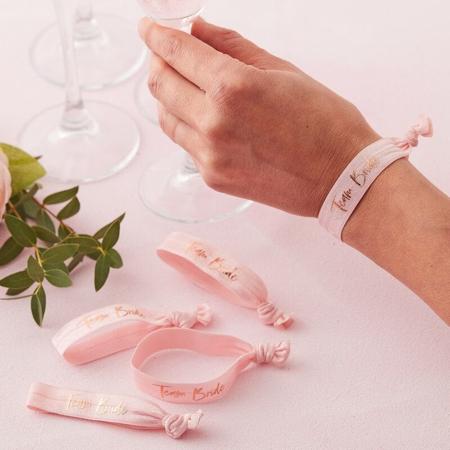 Slika za Ginger Ray® Elastične narukvice Team Bride