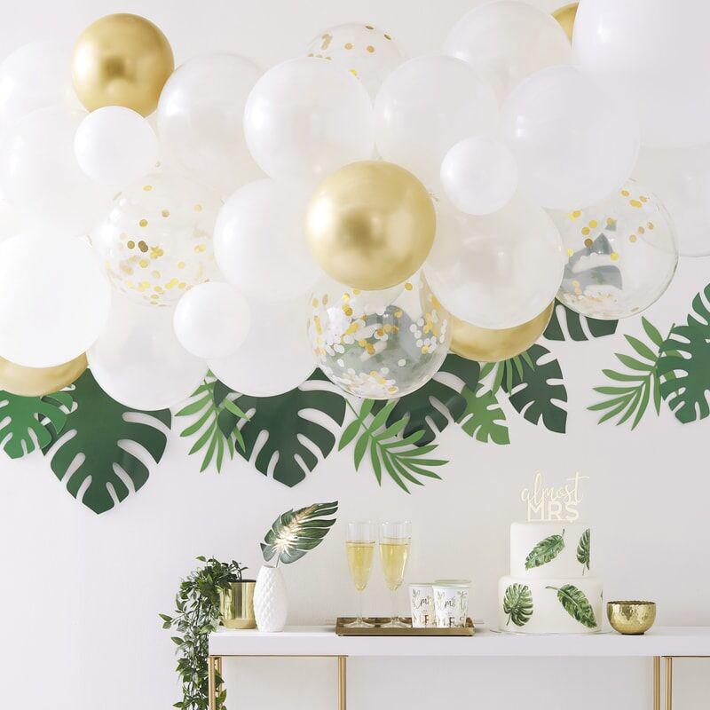 Slika za Ginger Ray® Luk iz balona Gold Chrome