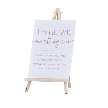 Slika za Ginger Ray® Drveni stalak sa tablom