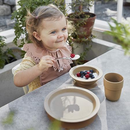 Slika za Elodie Details® Set za jelo od bambusa Faded Rose