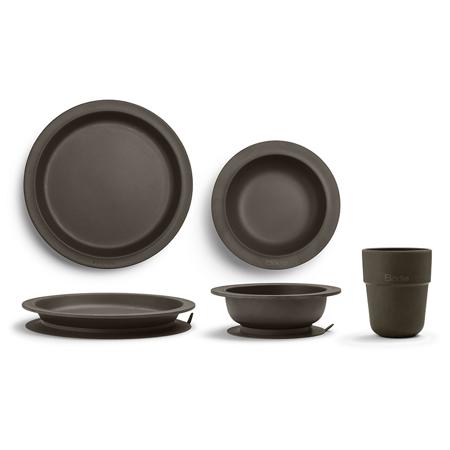 Slika za Elodie Details® Set za jelo od bambusa Chocolate