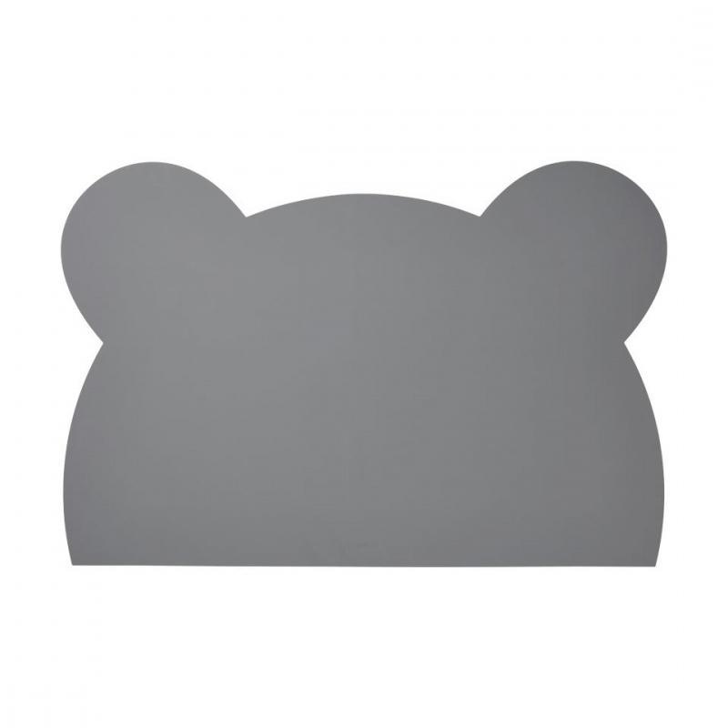 Slika za Liewood® Silikonska podloga za crtanje Mr Bear Stone Grey
