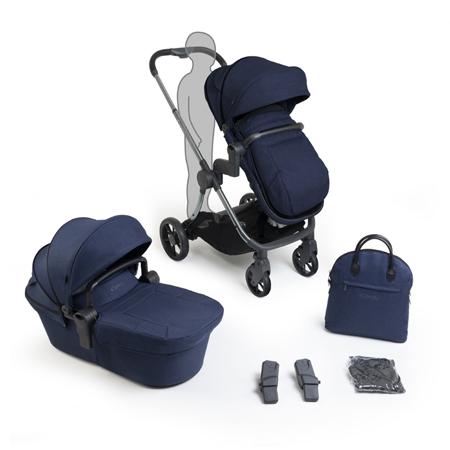 iCandy® Dječja kolica s košarom 2v1 Lime Lifestyle Navy