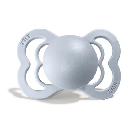 Slika za Bibs® Duda Supreme Silicone Baby Blue & Ivory 1 (0-6m)