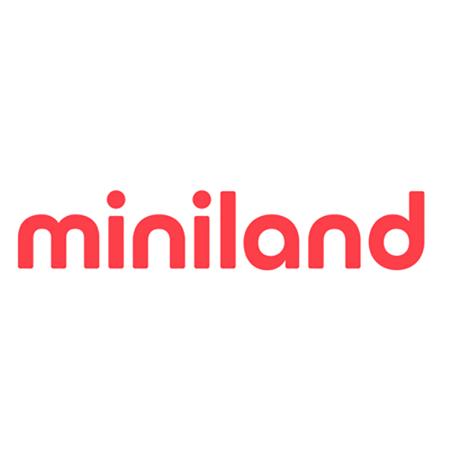 Slika za Miniland® Set 3 okrugle staklene posudice 300ml Bunny