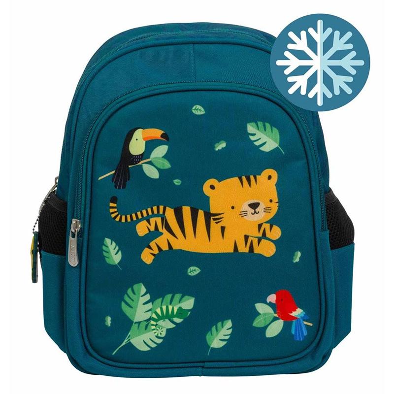 Slika za A Little Lovely Company® Izoliran dječji ruksak Jungle Tiger