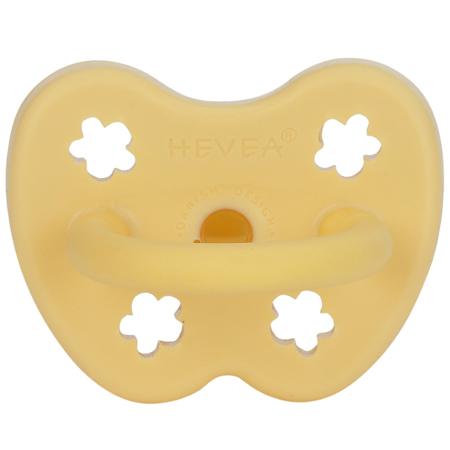 Hevea® Ortodontska duda od kaučuka Colourful (3-36m) Banana