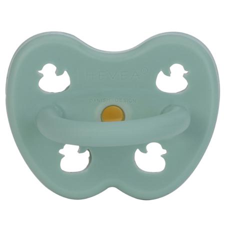 Hevea® Ortodontska duda od kaučuka Colourful (3-36m) Pistachio