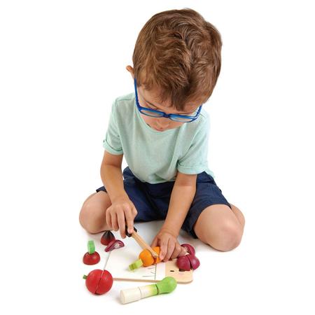 Slika za Tender Leaf Toys® Drvena daska za rezanje Mini Chef Chopping Board