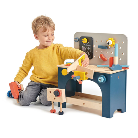 Tender Leaf Toys® Stol s alatom Table Top Tool Bench