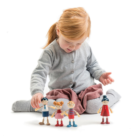 Tender Leaf Toys® Drvene lutke Doll Family