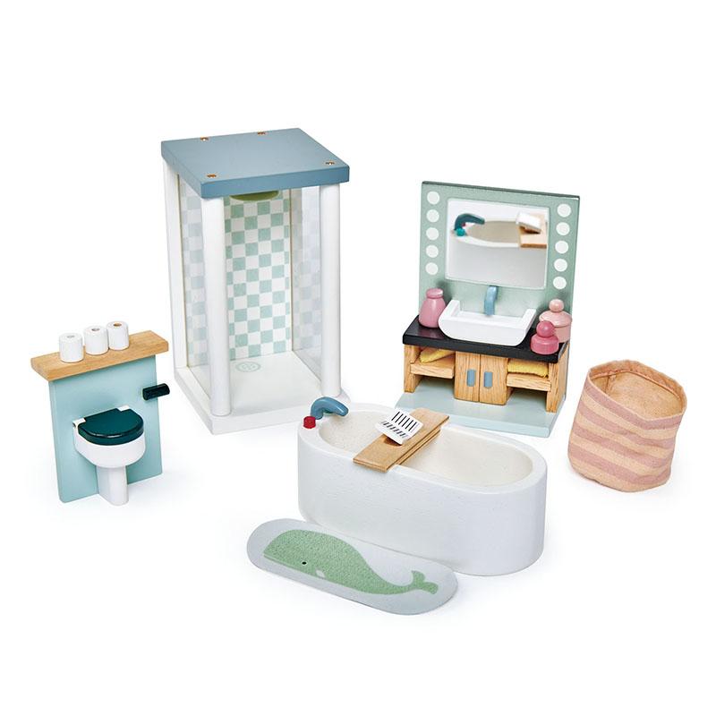 Slika za Tender Leaf Toys® Kupaonica za lutke Dolls House Bathroom Furniture