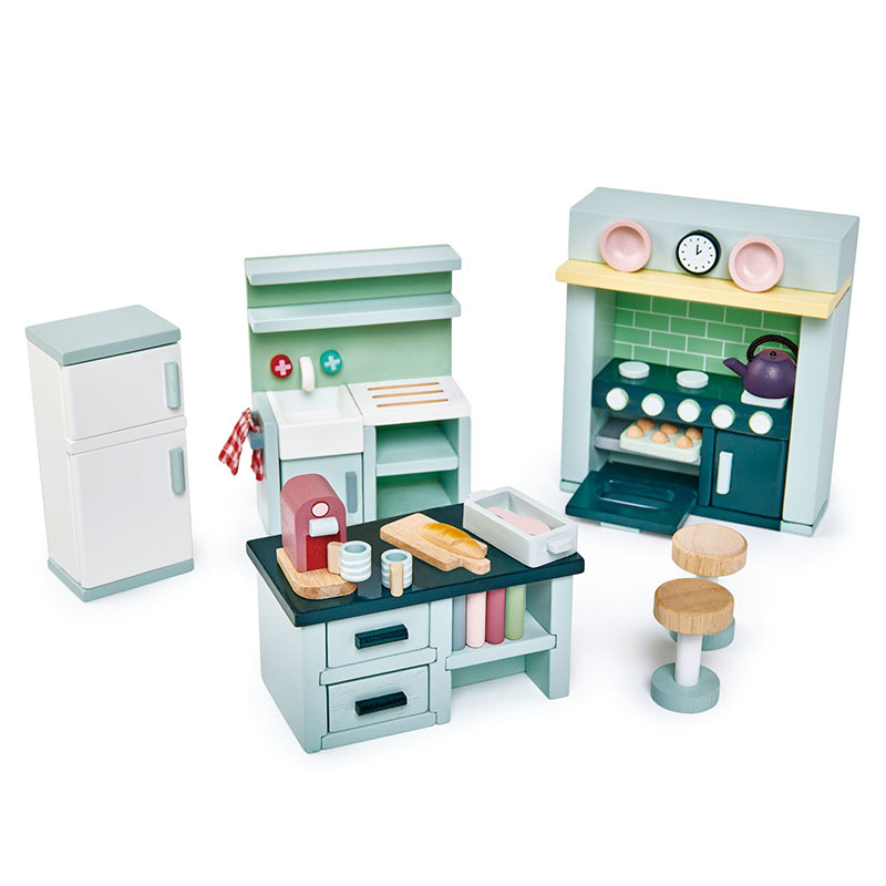 Slika za Tender Leaf Toys® Kuhinja za lutke Dolls House Kitchen Furniture