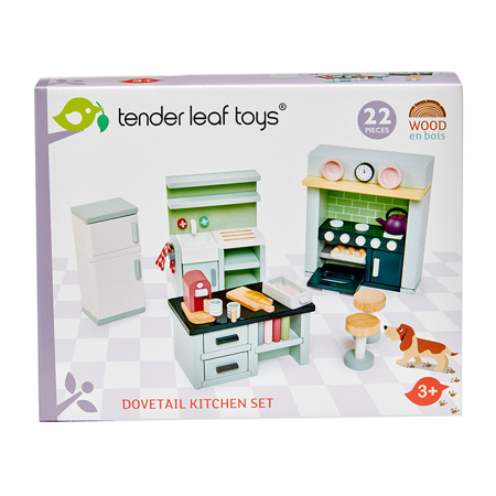 Tender Leaf Toys® Kuhinja za lutke Dolls House Kitchen Furniture