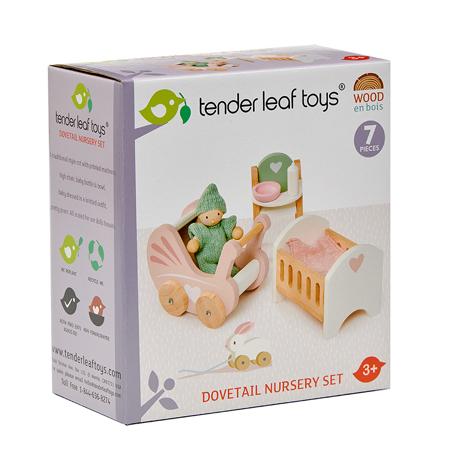 Tender Leaf Toys® Dječja soba za lutke Dolls House Nursery Set