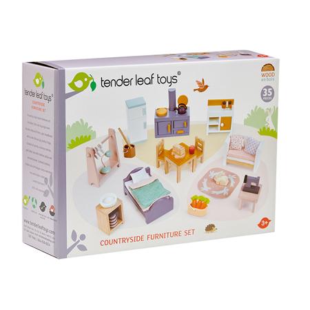 Tender Leaf Toys® Komplet namještaja za lutke Countryside Furniture Set