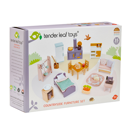 Slika za  Tender Leaf Toys® Komplet namještaja za lutke Countryside Furniture Set