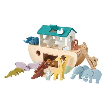Slika za Tender Leaf Toys® Noetova barka Noah's Wooden Ark