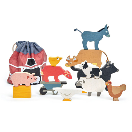 Slika za Tender Leaf Toys® Životinje na farmi Stacking Farmyard