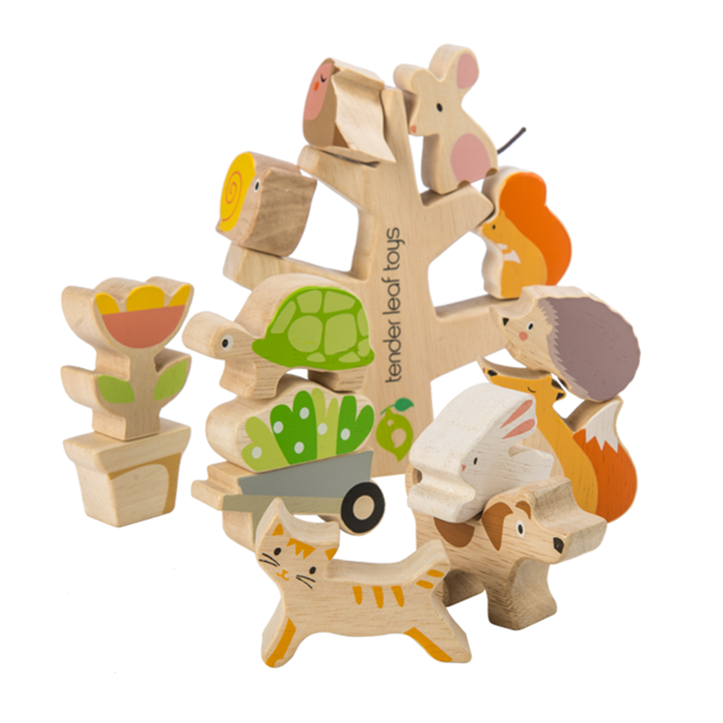 Slika za Tender Leaf Toys® Prijatelji iz vrta Stacking Garden Friends